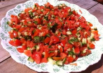 lousianna tomato salad