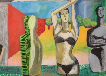 Sculptors-Bench-with-View-Mixed-Media-on-Paper-570-mm-x-760-mm-£1800-580x352