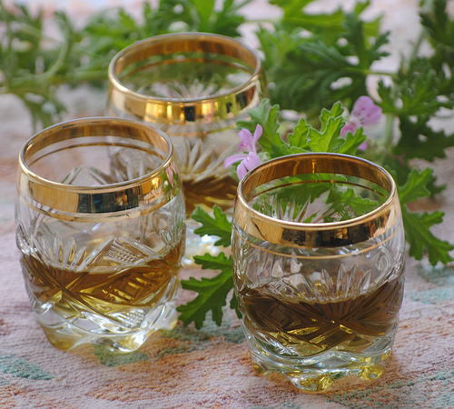geranium drink