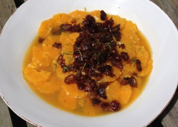 Orange and Date salad